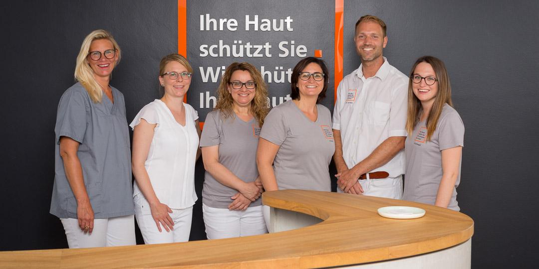 Team Hautarztpraxis Dr. M. Huber
